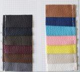 高品質の柔らかい耐久財PU袋の革(CF6021)