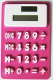 Чалькулятор силикона 8 чисел солнечный приведенный в действие карманный, чалькулятор силикона складной