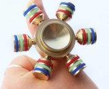 Hilandero de la mano del juguete del hilandero de la persona agitada del hilandero de la aleación de aluminio tri