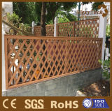 Euro Style Polywood Fencing Garden Lattice Fence à vendre