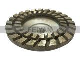 화강암 갈기를 위한 지속적인 변죽 컵 바퀴