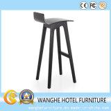 Il nero moderno Barstool di legno della mobilia del randello dalla Cina