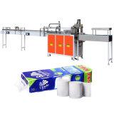 Équipement d'emballage de tissus à rouleaux multiples de toilette