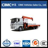 Capacidade de levantamento montada caminhão do guindaste 10-15ton de Hyundai