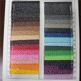 Мягкая каменная кожа PVC картины для сумок (8519)