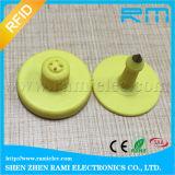 Tag de orelha animal de RFID para o gado