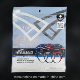 Прокатанные мешки алюминиевой фольги застежки -молнии раговорного жанра для продуктов спортов