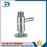 Tipo normal sanitário de aço inoxidável apertado provando válvulas