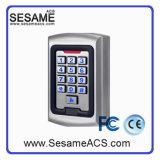 Telclado numérico independiente impermeable del control de acceso del metal con el lector de tarjetas (S5CN)