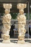 De marmeren Kolom van het Standbeeld