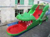Riesiges aufblasbares Krokodil-Plättchen, verwendetes Wasser-Plättchen für Verkauf