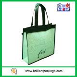 Saco de Tote de compra não tecido barato do uso das mulheres/saco da ecologia orgânico