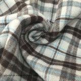 Cara común del doble de la verificación de la tela de las lanas