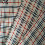 셔츠 복장 Rls40-42po를 위한 100%년 면 포플린 길쌈된 털실에 의하여 염색되는 직물