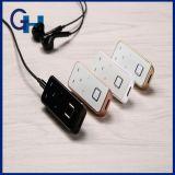 Auscultadores Bluetooth, fone de ouvido sem fio V4.1 Baixo pesado estéreo em Ear Earbuds Isolamento de ruído Fones de ouvido à prova de água com microfone - (ouro)