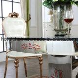 대리석 식탁 및 의자를 가진 도매 스테인리스