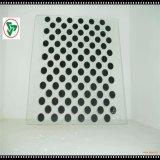 円形の端が付いている4-12mmの極度の明確な緩和されたガラス