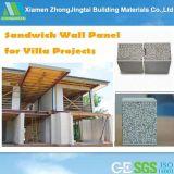 건축하는 60/75/90/100/120/150mm 또는 건설물자 실내 외부 벽을%s 장식적인 EPS 샌드위치 위원회