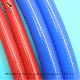 Tubo di gomma di rinforzo treccia del silicone della fibra per il creatore di caffè