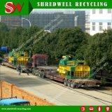 Hydraulische het In balen verpakken van de Schroot Machine om de Blikken van het Staal/van het Aluminium van het Afval Te recycleren