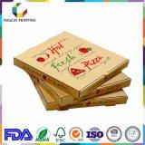 Het rekupereerbare Vakje van de Pizza van het Document van Kraftpapier van de Rang van het Voedsel