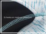 A cor impermeável ao ar livre do Melange do fecho de correr das vendas quentes do projeto do OEM feita malha veste o revestimento das mulheres