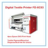 Machine d'impression de roulis de textile de Digitals Fd-Xc03