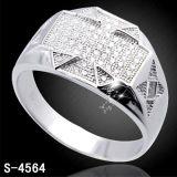 Venda por atacado de prata da fábrica da jóia da forma do anel 925