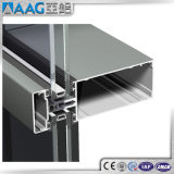 Constructeurs de mur rideau en aluminium glacé