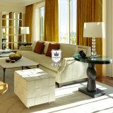 ホテルの寝室および居間のための家具を予約した