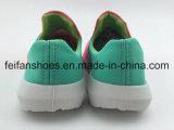 Los zapatos ocasionales del Slip-on del diseño de la manera, inyección de la lona calzan al por mayor (FFHH-092610)