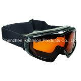 Reansonの二重レンズのAnti-Fog高品質の雪のゴーグル
