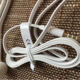 Écouteurs de sport avec la MIC exécutant Earbuds avec le contrôle du volume 3.5mm pour des smartphones