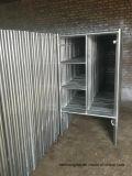 건설장비를 위한 강철 비계 프레임을%s 직류 전기를 통한 석수 도보