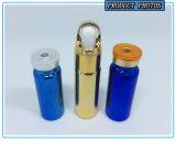 Galvanisierende pharmazeutische Röhrenglasphiole-Flasche für Einspritzung