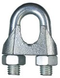 DIN741steel Drahtseil-Klipp-Edelstahl, formbares Eisen