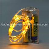 Батарея AA Fairy светов светов розового миниого риса звёздная - приведенный в действие ультра тонкий провод шнура