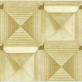 Papier de mur d'or de cuisine de PVC de Guangzhou bon marché