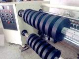 Corte automático de los materiales de cuero y máquina de Rewinder