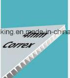 Wit 1220*2440mm 4mm 700G/M2 -750G/M2 van de Bladen van Coroplast Corflute van Correx Ondoorzichtig Stevig