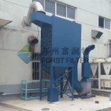 Sistema del colector de polvo del aire del cartucho de filtro de Forst