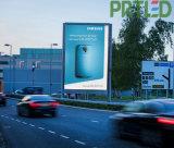Colore completo esterno P5/P6 di alta luminosità che fa pubblicità alla bandiera della visualizzazione di LED (scegliere/a doppia faccia)