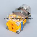 Dia22mm-La118abnの押しボタンスイッチ、黒、赤、緑、黄色、青、白いカラー、6V-380V電圧
