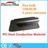 iluminação ao ar livre do diodo emissor de luz da ESPIGA material da condução de calor do PCI de 60W-150W IP67