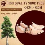 Árbol de madera del zapato del diseño de la venta al por mayor normal del cedro, zapato del árbol