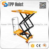 manuelle Laufkatze-hydraulisches Doppeltes der Hand500kg Scissor Aufzug-Tisch-Großverkauf
