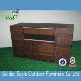 耐久の藤が付いている機能藤の家具のキャビネット