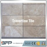 普及した白いTravertineの石のフロアーリングのための屋外のTravertineのタイル