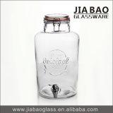 7000mlソーダライムの大きい飲料ジュースの瓶によって浮彫りにされるガラス瓶