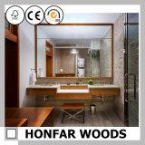 ヨーロッパ式の贅沢な浴室ミラー木ミラーフレーム